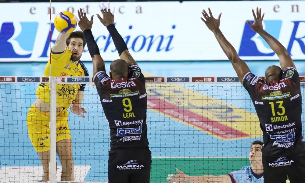 Assim como Lucarelli, Leal também venceu na rodada da Liga Italiana de vôlei (legavolley.it/Divulgação)