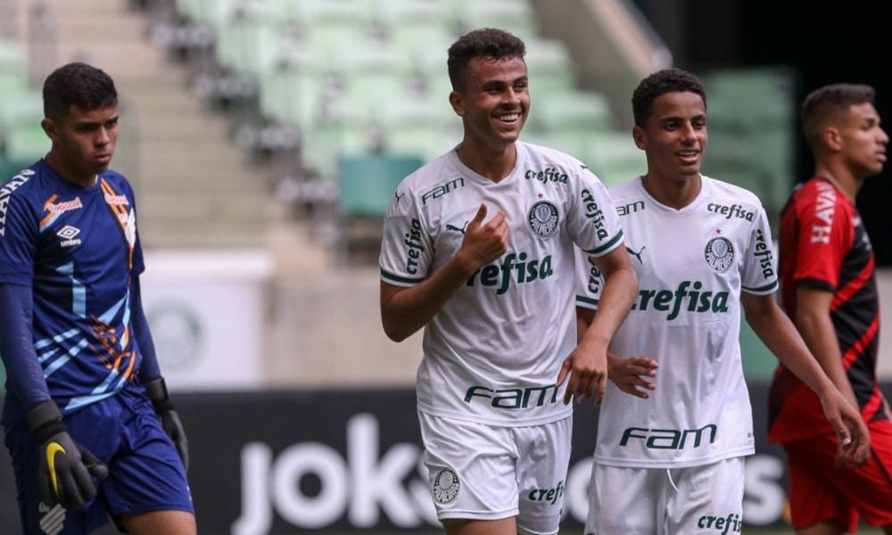 O Palmeiras fez 2 a 0, sofreu o empate e depois marcou o terceiro (Fabio Menotti/Palmeiras)