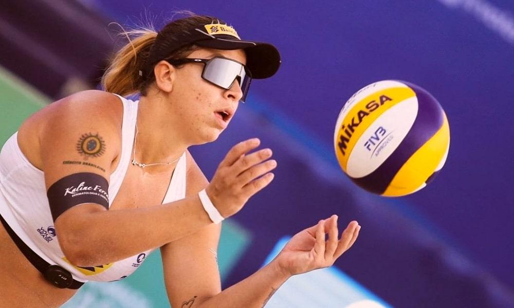 Ana Patrícia e Rebecca Cavalcante Jogos Olímpicos de Tóquio 2020 Olimpíada vôlei de Praia