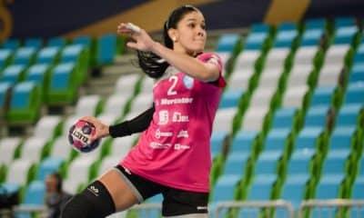 Samara Vieira handebol feminino RK Krim Mercator ligas européias brasileiras