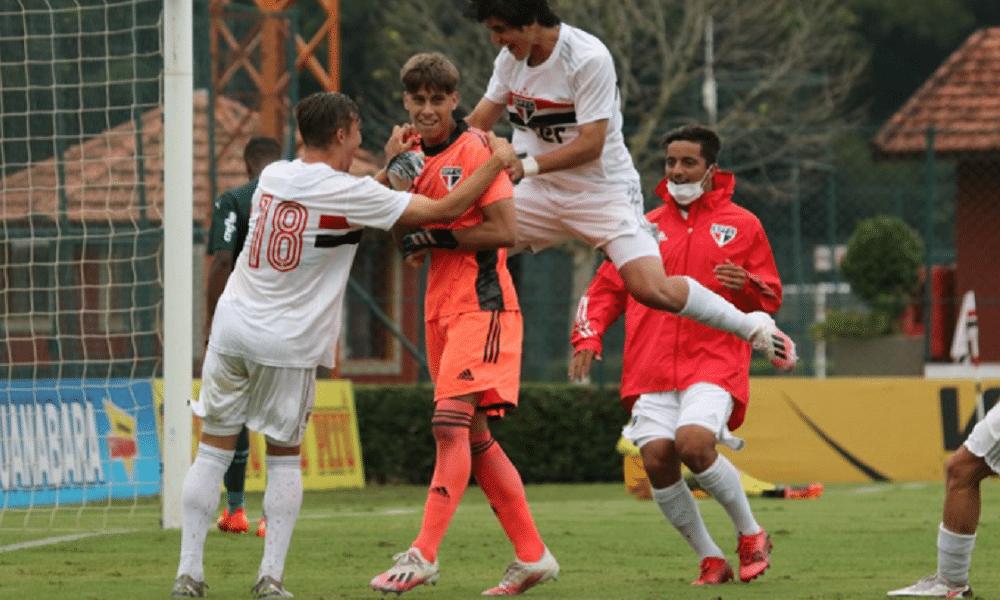 Fluminense e São Paulo Copa do Brasil sub-17
