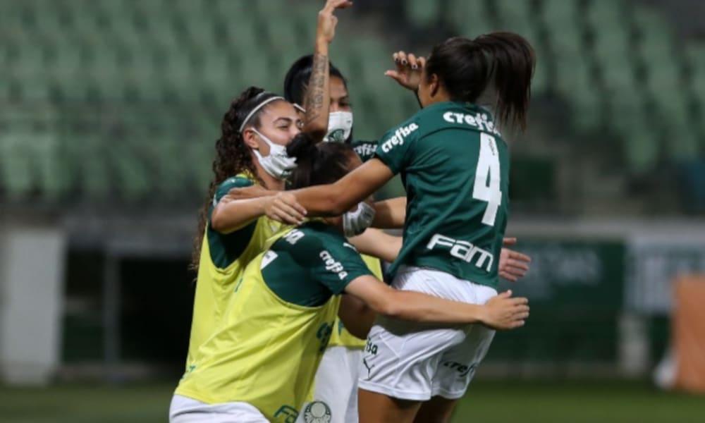 Thaís, camisa 4 do Palmeiras, fica no clube para a temporada de 2021 (Fabio Menotti/Palmeiras)