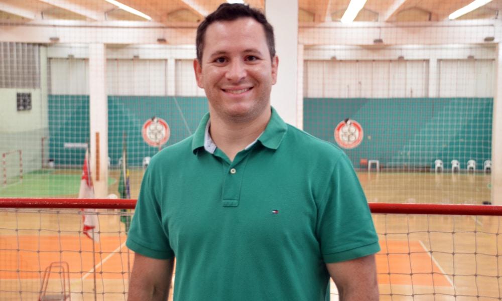 Tiago Camilo é o novo diretor do Centro Olímpico de São Paulo (Guilherme Guidetti/SEME)