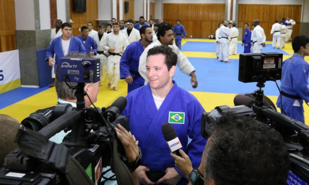Como atleta, Tiago Camilo conquistou duas medalhas olímpicas e um título Mundial (COB/Divulgação)