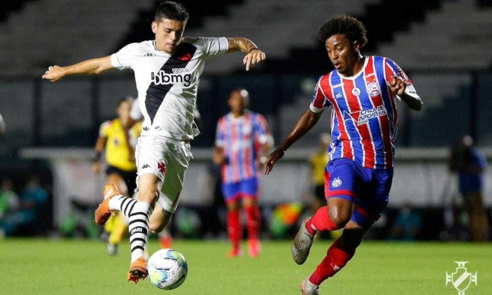 O Bahia estava perdendo de 2 a 0 e virou para 3 a 2 (Rafael Ribeiro/Vasco)