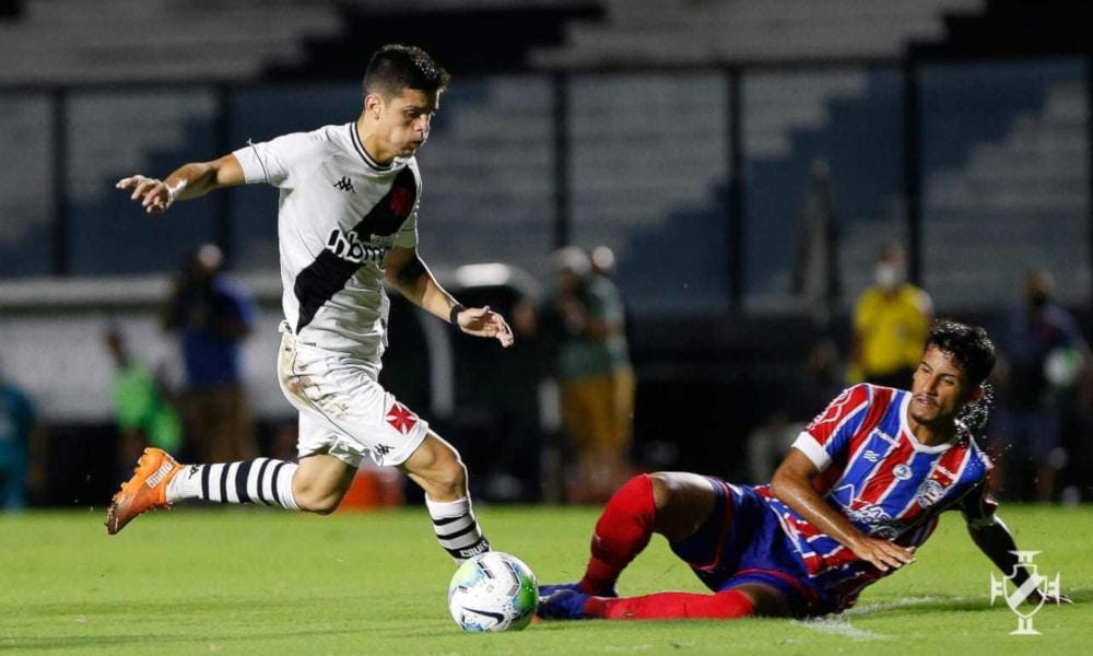 O jogo se encaminhava para os pênaltis quando o Vasco fez o gol do título (Rafael Ribeiro/Vasco)