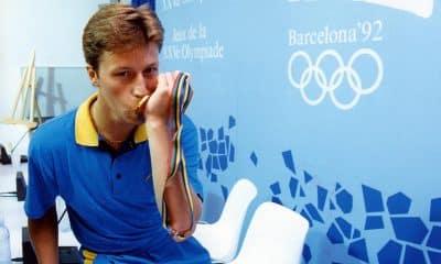 """Waldner, o """"Mozart"""" do tênis de mesa com o ouro olímpico em Barcelona-1992"""