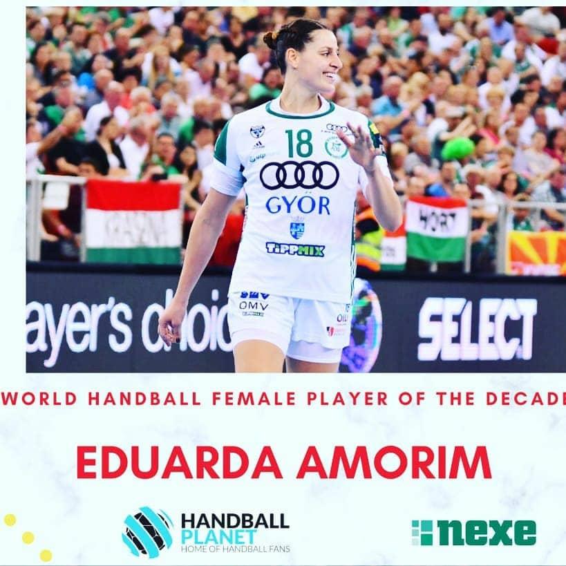 Duda Amorim jogadora handebol da década handball planet