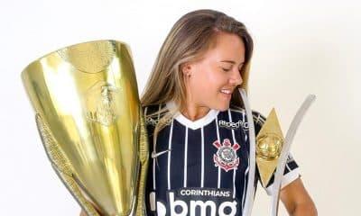 Andressinha Corinthians Futebol Feminino contrato