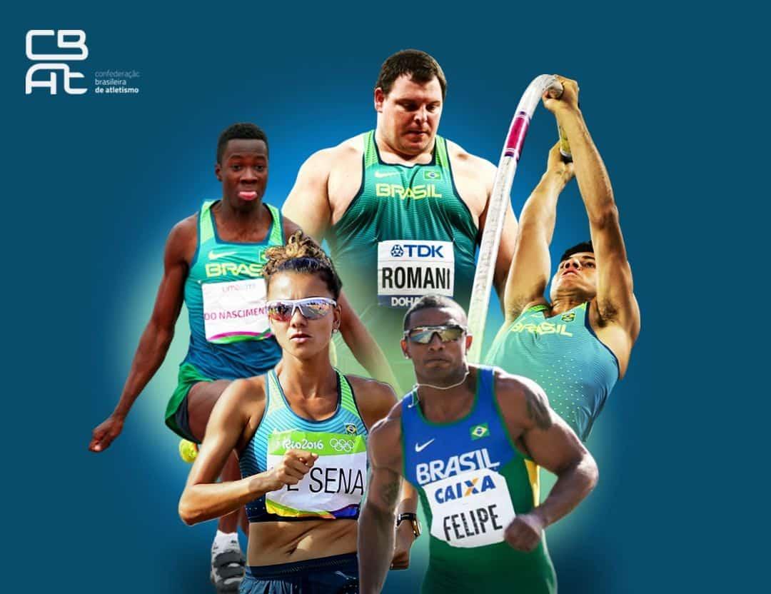atletismo brasileiro ranking olímpico