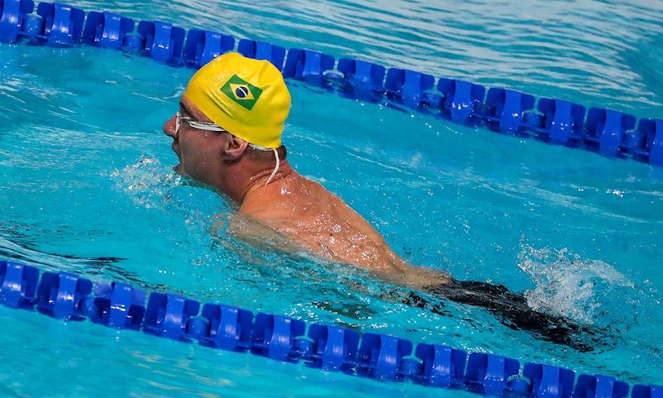 Bruno Becker natação paralímpica Jogos Paralímpicos de Tóquio 2020
