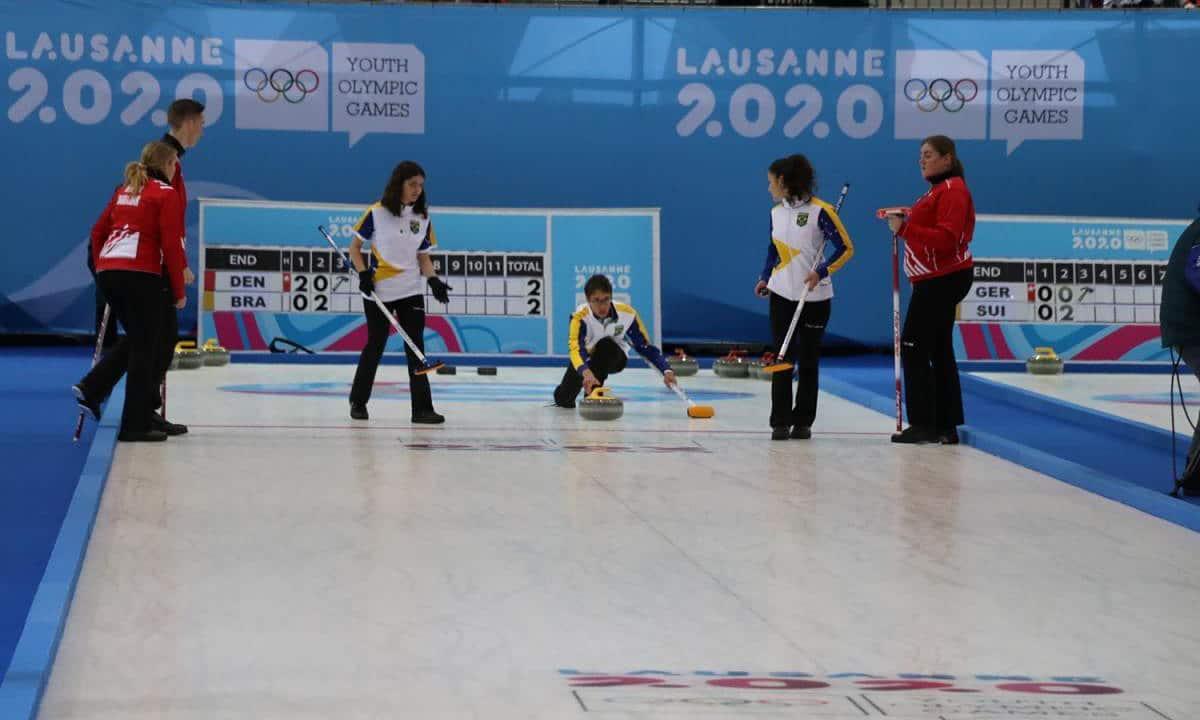 curling Jogos Olímpicos da Juventude de Inverno Lausanne