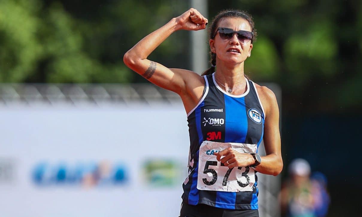 Érica Sena marcha atletica feminina atletismo tóquio 2020 Pinheiros