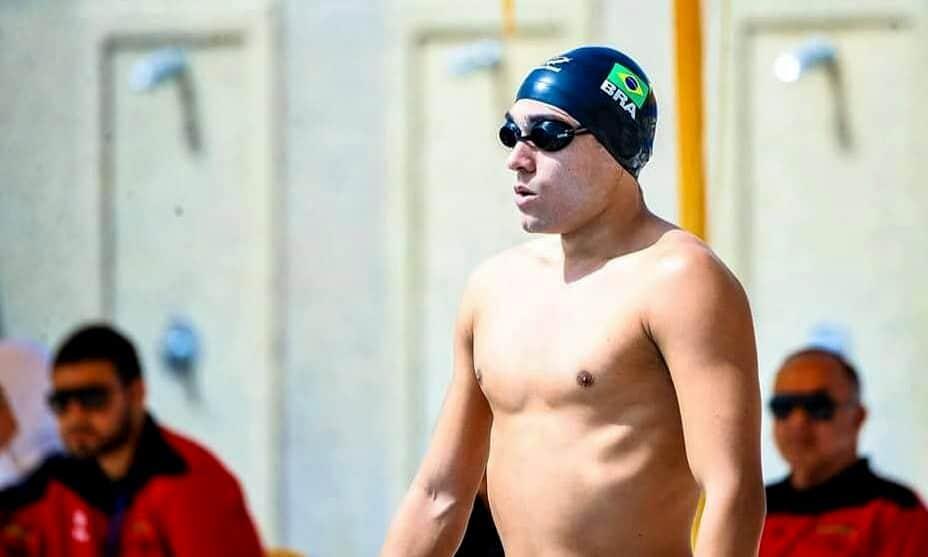 Felipe Nascimento mundial de pentatlo moderno natação adiamento