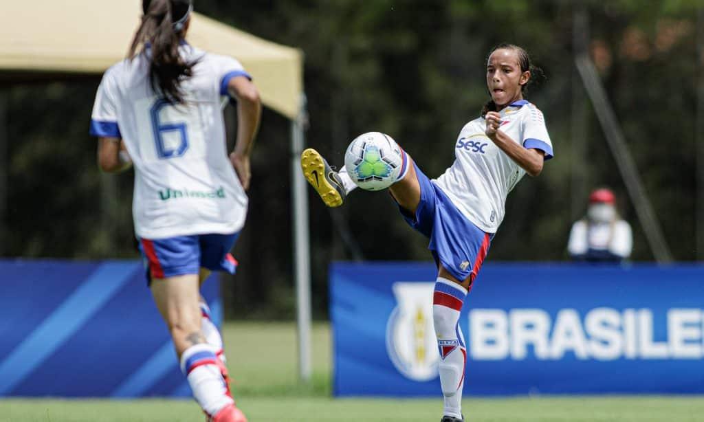 Fortaleza Flamengo Campeonato Brasileiro feminino Sub-18 futebol feminino
