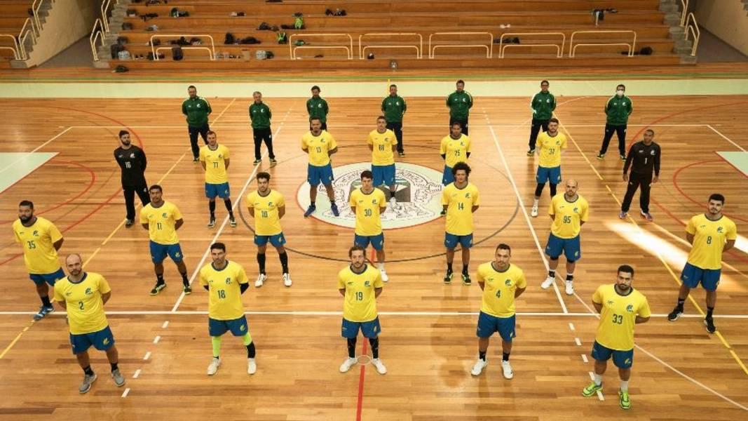 handebol seleção brasileira masculina Rio Maior