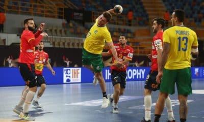 Brasil e Espanha - Brasil Mundial de handebol