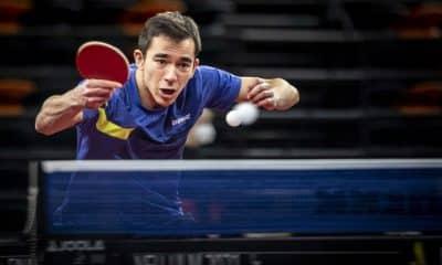 Hugo Calderano Copa da Alemanha tênis de mesa vice Ochsenhausen