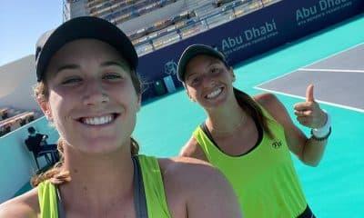 Luisa Stefani Hayley Carter Duplas WTA 500 de Abu Dhabi Brasileira tênis duplas