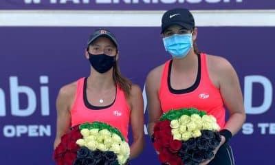 Luisa Stefani e Hayley Carter - Final Abu Dhabi