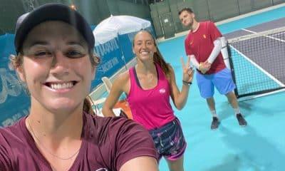 Luisa Stefani Hayley Carter WTA de Abu Dhabi Tênis duplas