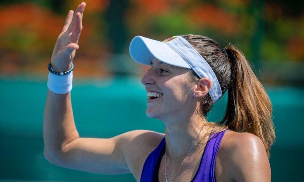 Luisa Stefani é a número 1 do Brasil no ranking de duplas (Andre Gemmer/Green Filmes)