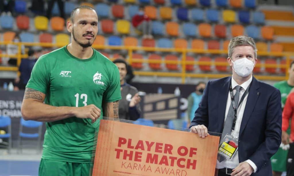 Rogério Moraes mundial de handebol masculino seleção brasileira Egito