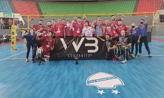 vôlei superliga b masculina de vôlei Vila Nova FC