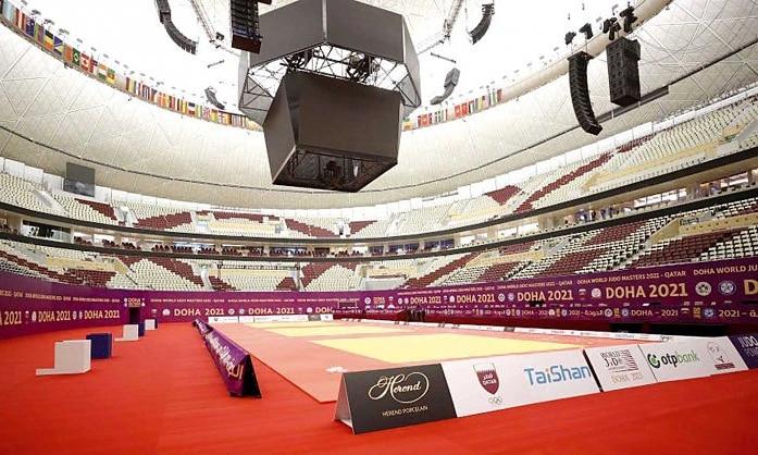 World Masters judô Doha Catar ao vivo