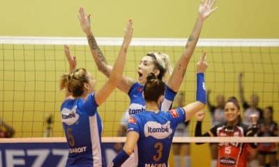 Acompanhe ao vivo: Minas x Sesi Bauru - Superliga feminina