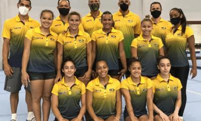 Seleção brasileira de ginástica artística feminina