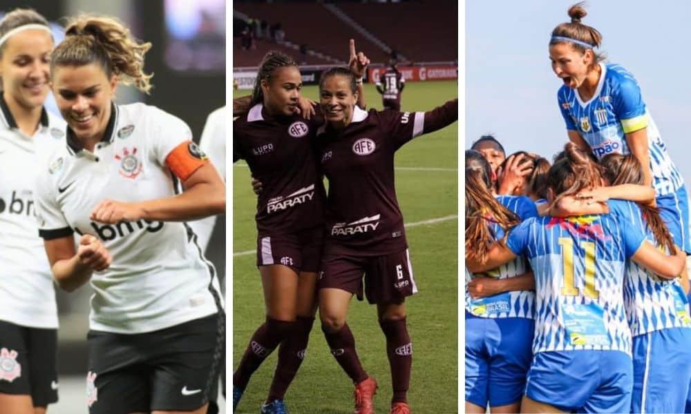 Corinthians Ferroviária Avaí Kinderman Tabela da Copa Libertadores da América de futebol feminino 2020