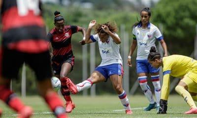 Flamengo x Fortaleza Brasileiro Sub-18 de futebol feminino