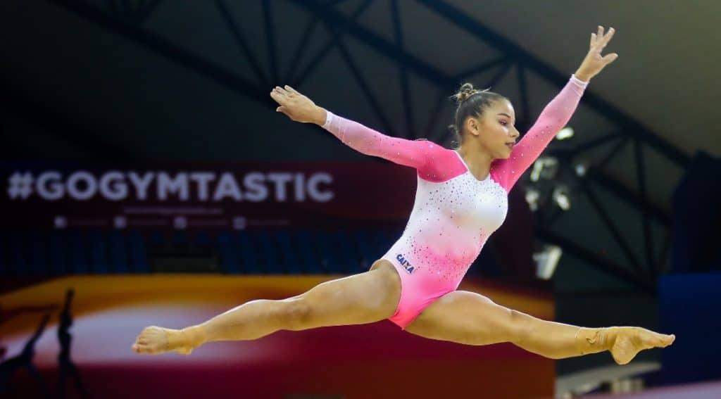 ginástica artística Flavia Saraiva