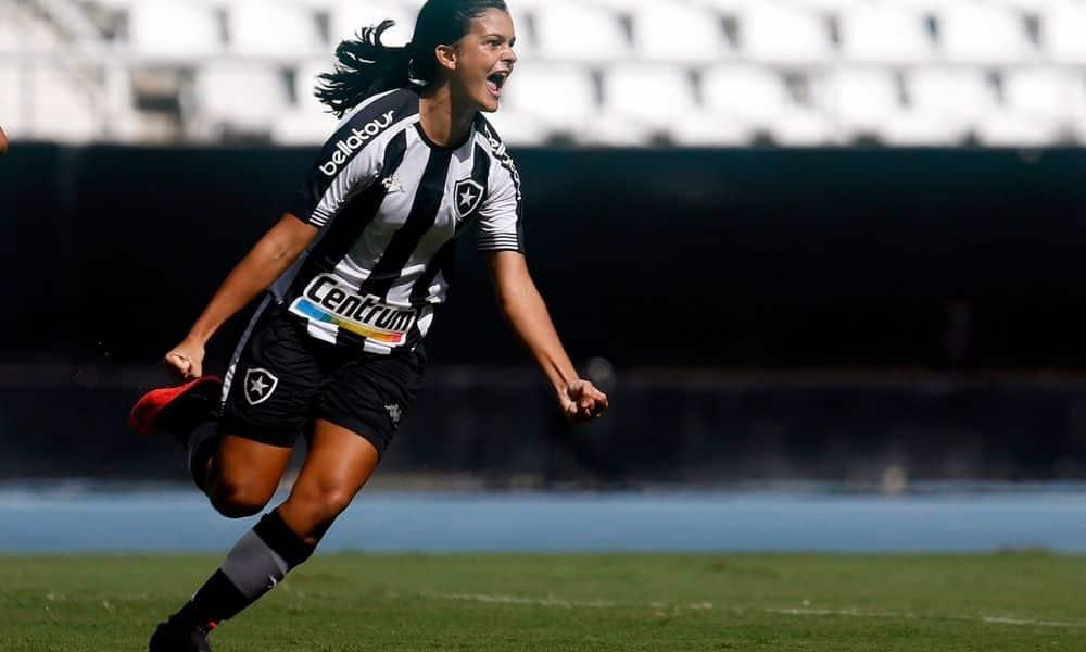 Gaby Louvain Botafogo x Pérolas Negras Campeonato Carioca de futebol feminino
