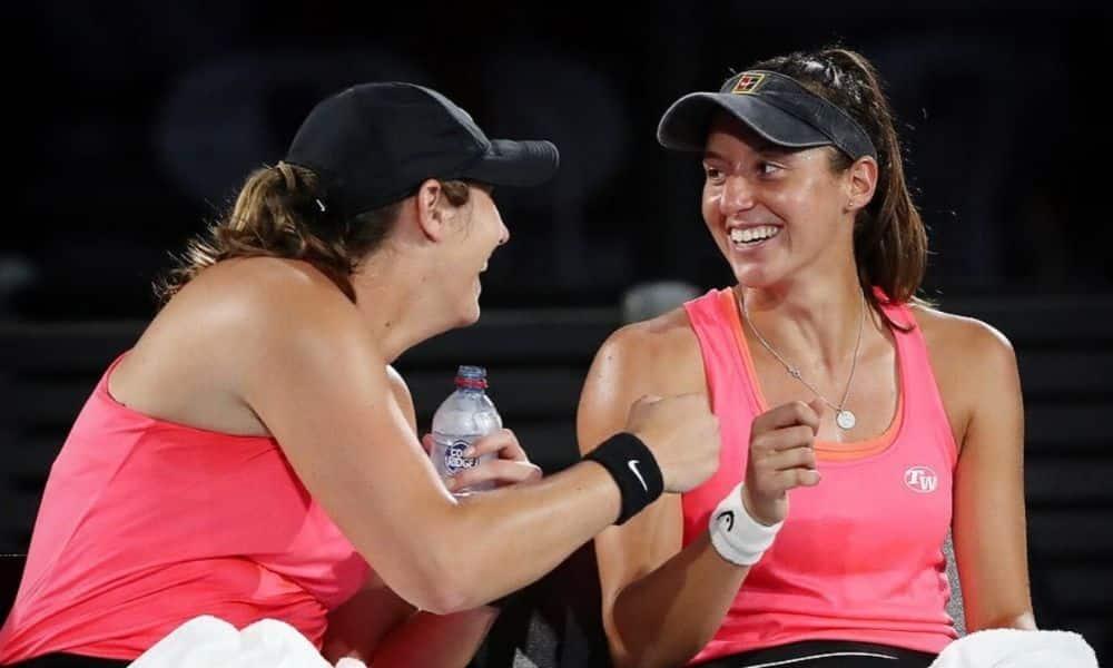 Hayley Carter e Luisa Stefani WTA 500 de Adelaide