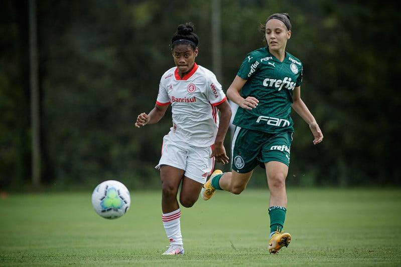 Internacional x Palmeiras Brasileiro de futebol feminino