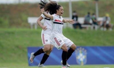 Internacional x São paulo Brasileiro Sub-18 de futebol feminino