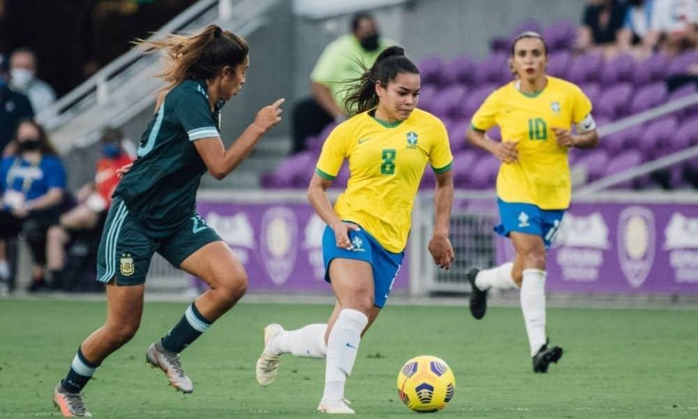 Ivana fuso brasil 4 x 1 argentina