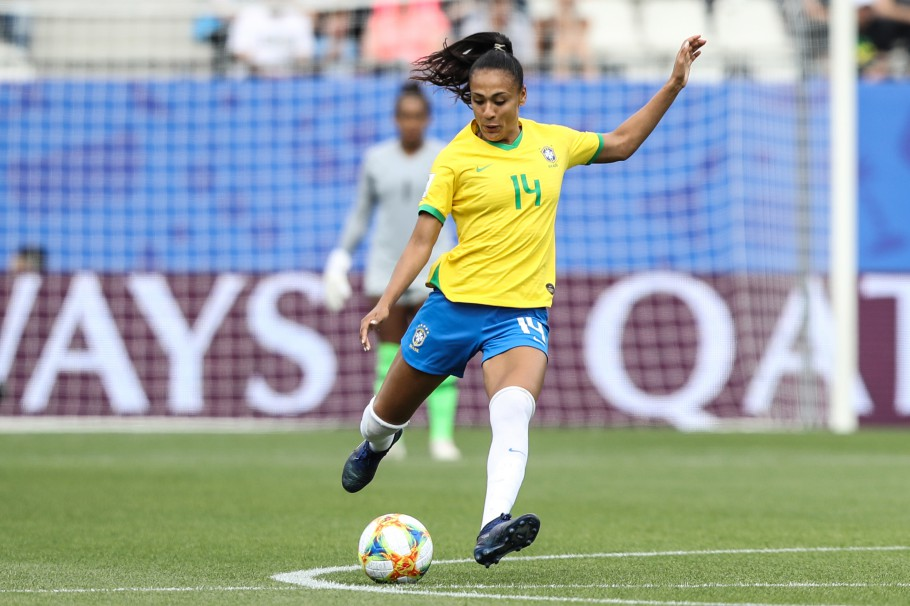 zagueira Kathellen seleção brasileira de futebol feminino torneio she believes