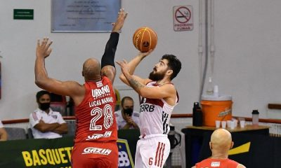 Lucas Mariano Balbi Flamengo x São Paulo NBB