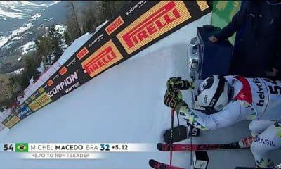 Michel macedo mundial slalom gigante