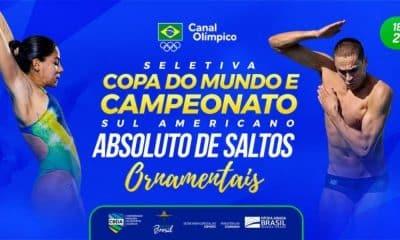 seletiva de saltos ornamentais ao vivo no canal olímpico do brasil