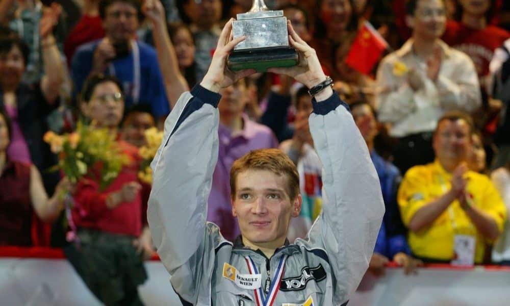 Werner Schlager, campeão mundial em 2003