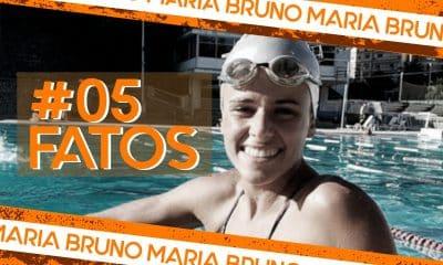 Maria Bruno - 5 fatos - nado artístico