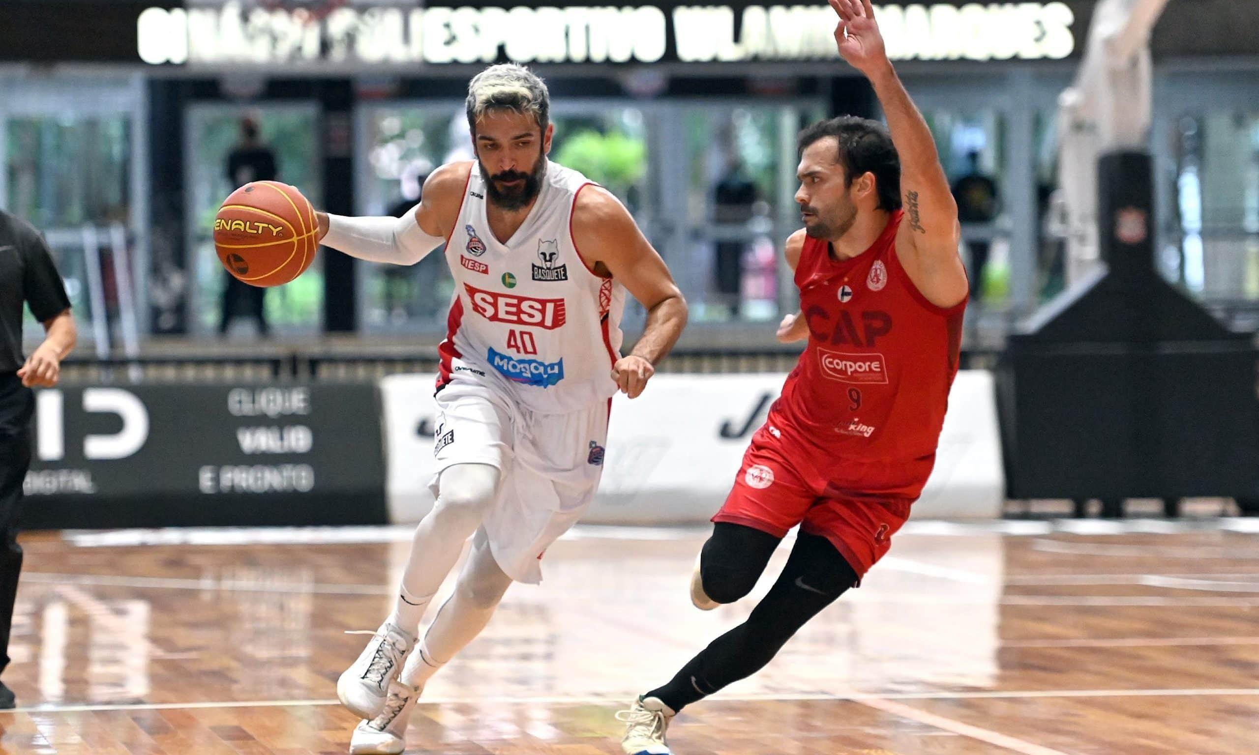 André Góes Franca Deryk Paulistano NBB basquete masculino