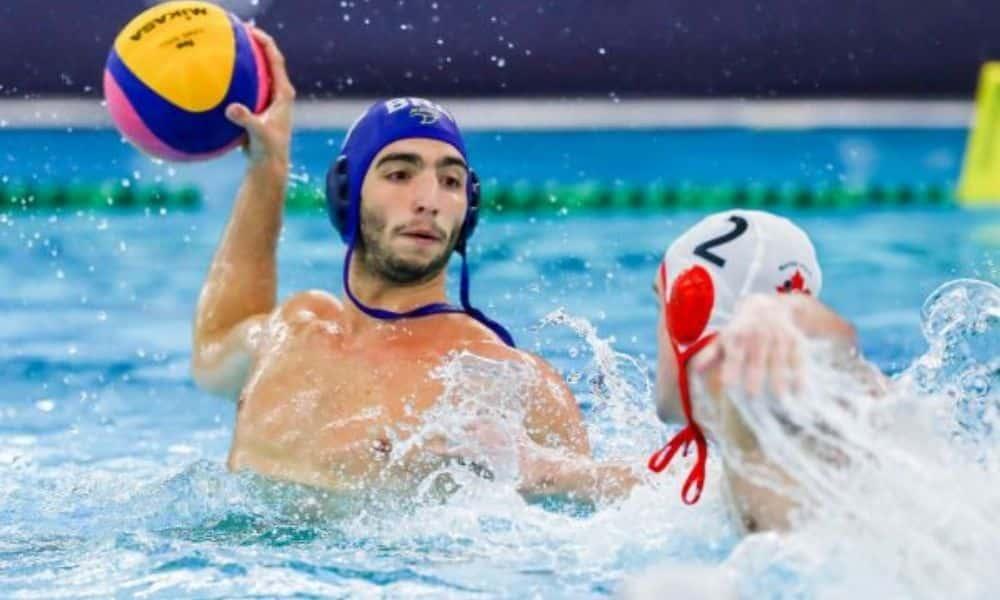 brasil geórgia pré-olímpico de polo aquático