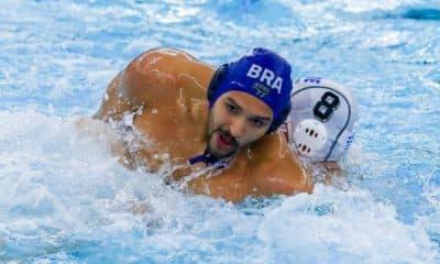 brasil x montenegro pré-olímpico de polo aquático