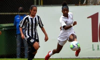 fluminense x santos brasileiro sub-18 de futebol feminino