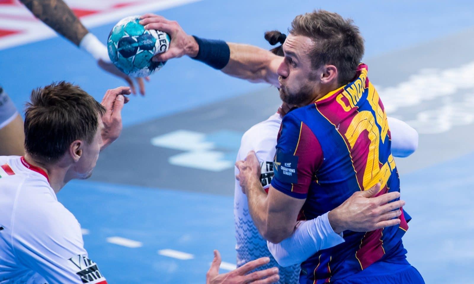 Barcelona Vezprém Champions League handebol masculino Luka Cindric
